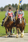 Katholieke paardoptocht Royalty-vrije Stock Fotografie