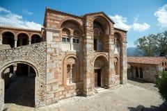 Katholikon, Hosios Loukas修道院,希腊 库存图片