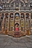 The Katholikon of the Holy Sepulchre. The Katholikon in the Basilica at the Church of the Holy Sepulchre in the old city of Jerusalem, Israel Stock Photography