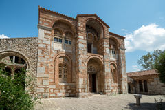 Katholikon, het klooster van Hosios Loukas, Griekenland Stock Foto