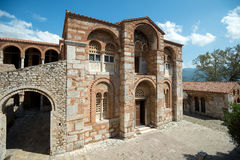 Katholikon Hosios Loukas kloster, Grekland Fotografering för Bildbyråer