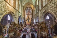 Katholische alte Stadt von Krakau lizenzfreies stockfoto