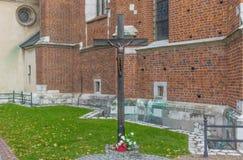 Katholische alte Stadt von Krakau lizenzfreies stockbild