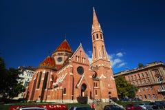 Katholische gotische Kirche Lizenzfreies Stockfoto