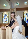 Katholische Hochzeit Stockbilder