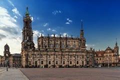 Katholische Hofkirche Stock Image