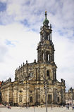 Katholische Hofkirche in Dresden. Germany Royalty Free Stock Photography