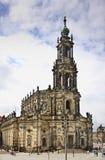 Katholische Hofkirche i Dresden germany Royaltyfri Fotografi