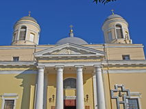 Katholische Kathedrale. Stockbilder