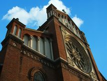 Katholische Kathedrale Lizenzfreie Stockbilder