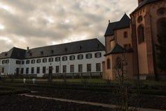 Katholische Kirche auf dem Fluss #5 Lizenzfreie Stockbilder
