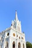 Katholische Kirche bei Samut Songkhram Stockfotos