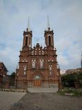 katholische Kirche coeur Bild Wladiwostok Russland Lizenzfreies Stockfoto