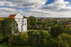 Katholische Kirche der Transfiguration Novogrudok belarus lizenzfreie stockbilder