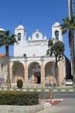 Katholische Kirche in Limassol, Zypern lizenzfreies stockfoto