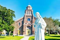 Katholische Kirche Louisianas stockfotos