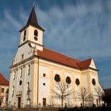 Katholische Kirche in Mitteleuropa Stockfoto