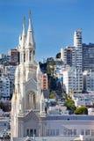Katholische Kirche San Francisco Heiligespeter-Paul Lizenzfreie Stockfotos
