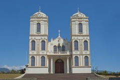Katholische Kirche Sarchi Costa Rica Stockfotos