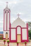 Katholische Kirche in Tal Tal-DOS Vinhedos Stockfotografie