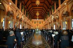 Katholische Kirche in Thailand Stockfotos
