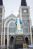 Katholische Kirche Thailand lizenzfreie stockbilder