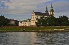 Katholische Kirche von Paulinov Lizenzfreie Stockbilder
