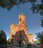 Katholische Kirche von St Joseph in Nikolaev, Ukraine stockfotos