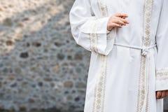 Katholische Kommunion Stockfotografie