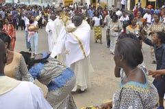 Katholischer Beruf des Glaubens lizenzfreie stockbilder
