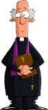Katholischer Priester Stockbild