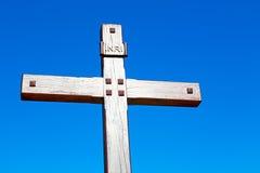 katholisches abstraktes heiliges Kreuz Stockfotos