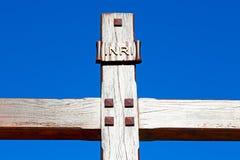 katholisches abstraktes heiliges Kreuz herein Stockfotos