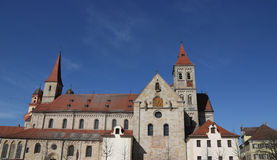 Katholisches Basilika-St. Vitus in Ellwangen, Deutschland Stockfotografie