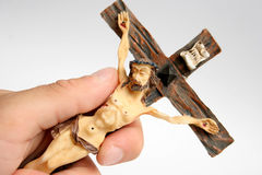 Katholisches Kreuz lizenzfreie stockfotografie