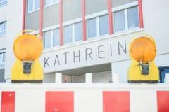 Kathrein construction Stock Photo