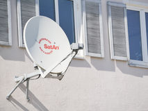 Kathrein satellite dish Royalty Free Stock Photography