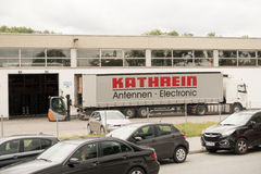 Kathrein truck Stock Photos