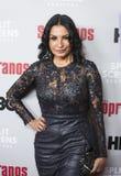 Kathrine Narducci 'no evento dos sopranos fotos de stock royalty free