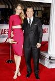 Kathryn Boyd och Josh Brolin Royaltyfria Foton