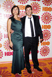 Kathryn Chandler and Kyle Chandler Royalty Free Stock Photos