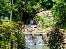 Kathu Waterfall on Phuket island in Thailand Stock Image