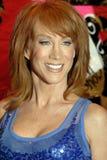 Kathy Greif auf dem roten Teppich Stockfotografie