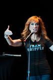 Kathy Griffin. LINCOLN, CA - September 20: Comedian Kathy Griffin performs at Thunder Valley Casino Resort in Lincoln,  California on September 20, 2013 Stock Image