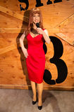 Kathy Griffin. Wax statue of Kathy Griffin, Madame Tussauds museum  Las Vegas Nevada Stock Photography