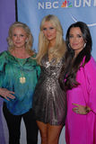 Kathy Hilton,Kyle Richards,Paris Hilton Stock Photo