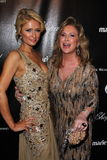 Kathy Hilton, Paris Hilton. Paris Hilton, Kathy Hilton  at the Weinstein Company's 2012 Golden Globe After Party, Beverly Hiltron Hotel, Beverly Hills, CA 01-15 Royalty Free Stock Photography