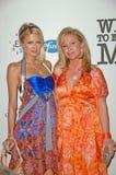 Kathy Hilton Paris Hilton Royaltyfri Fotografi