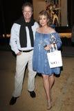 Kathy Hilton Rick Hilton Royaltyfri Fotografi
