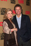 Kathy Hlton Rick Hilton Fotografía de archivo